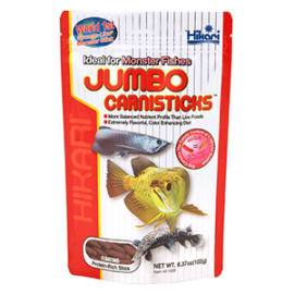 Hikari Jumbo Carnistick-Long Pellet -500g by www.aquastore.in
